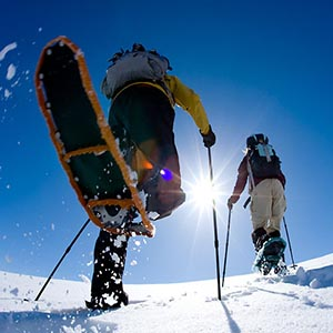 How To Stay Active During The Winter Snowshoe