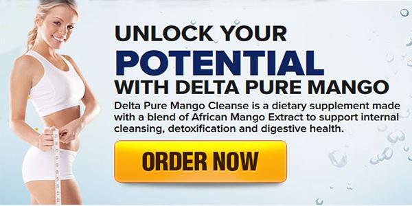 Delta Pure Mango Cleanse